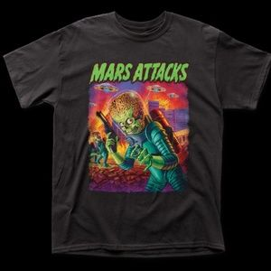 Mars Attacks – UFOs Attack Men's S/S Tee Shirt